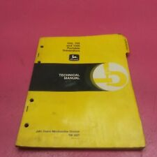 John Deere 550 750 And 110 Portable Generators Technical Manual Tm 1327 Lt6