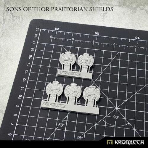 5x Sons of Thor Praetorian Shields Schild Kromlech KRCB217