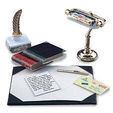 Reutter Porzellan Schreibtischgarnitur / Desk lamp Puppenstube 1:12 Art. 1.875/8