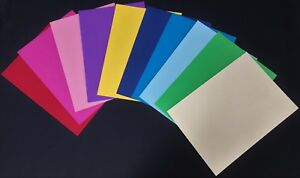 10PK-140G-A4-10-COLOURED-CARDSTOCK-PAPER-SCRAPBOOKING-CRAFT-ART-DIY-PROJECT