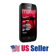 USA Stock! Nokia Lumia 710 Windows 7.5 8GB 5MP Smart Phone Unlocked Black