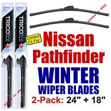 WINTER Wiper Blades 2-Pack Premium - fit 2005-2012 Nissan Pathfinder - 35240/180