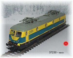 Marklin-37230-Locomotive-Electrique-Serie-25-la-Sncb-Mfx-Son-Metallique