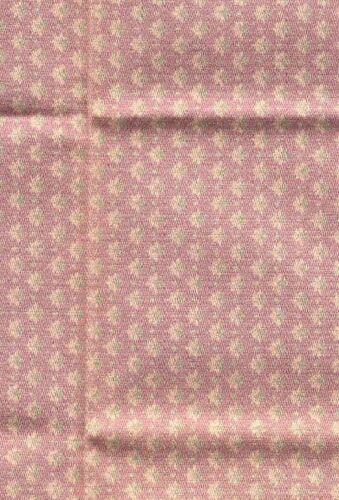 Tissu Brodnax Prints CED01 Jan Foncé Maison de Poupée Coton 1//12 Échelle 1pc