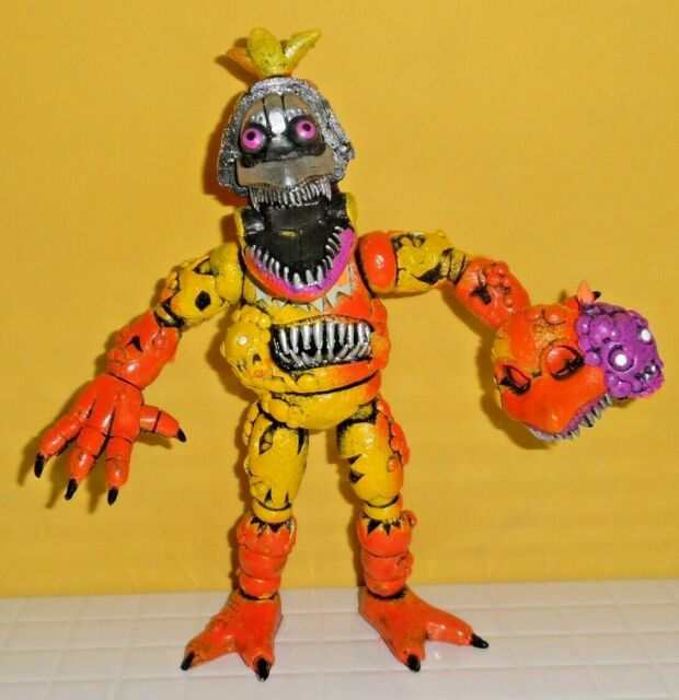 "Mexican ANIMATRONIC TWISTED CHICA Action Figure 8"" FNAF"
