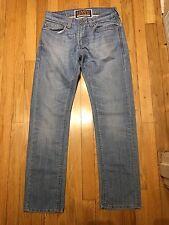 Levi's Red Tab 511 Skinny Fit Distressed Denim Jeans Size 32X30