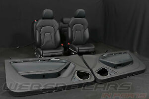 Audi-A5-8T-Coupe-S-LINE-Lederausstattung-RL-Leder-Sport-Sitze-leather-seats-RHD
