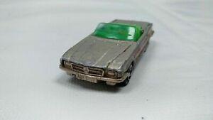 Vintage-Majorette-Mercedes-350-Sl-Cabrio-parte-superior-abierta-no-Plata-213-Modelo-de-Coche-de