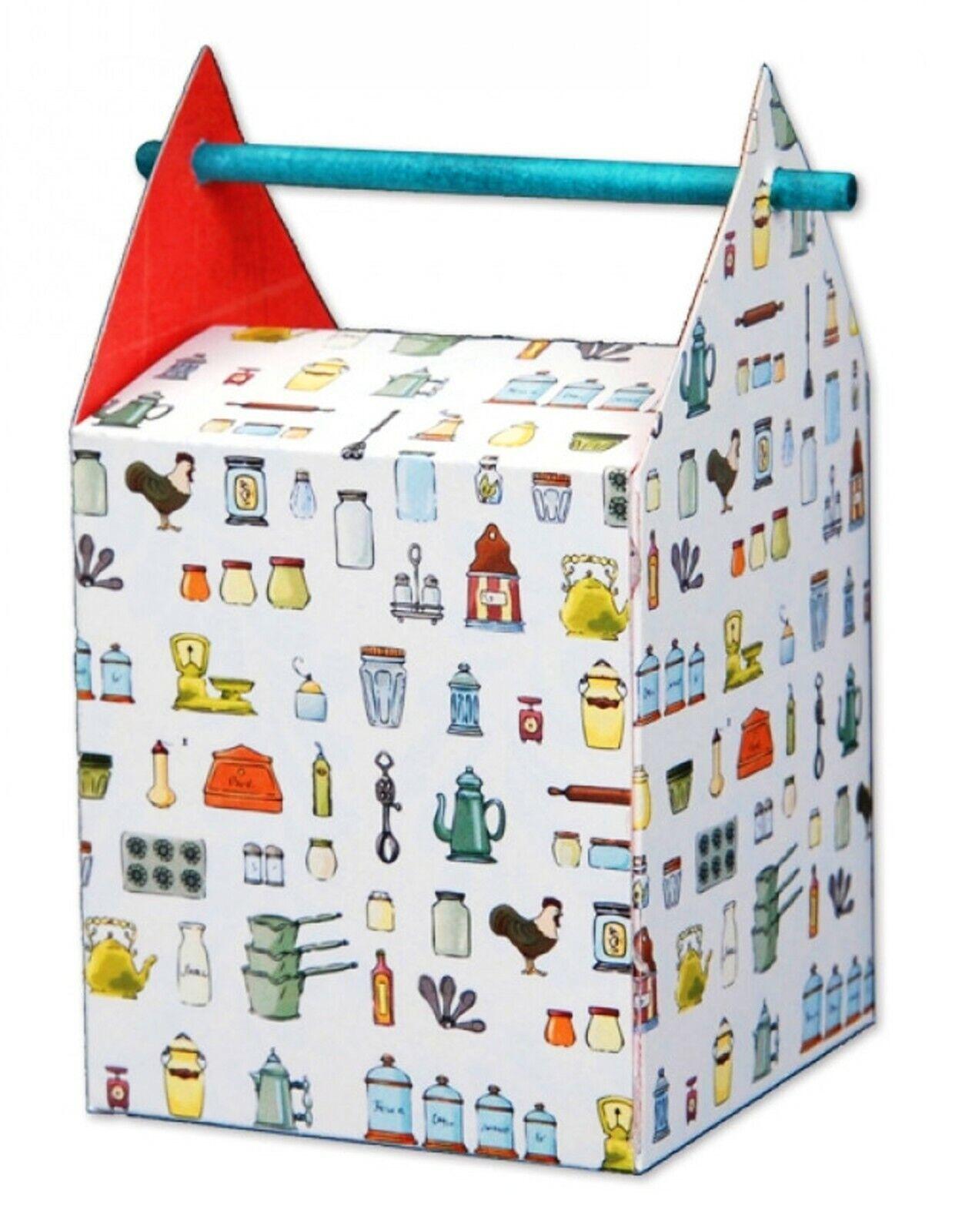 Sizzix Bigz L die Box with Stick Handle Hole #659536 Retail $29.99 SO FUN!