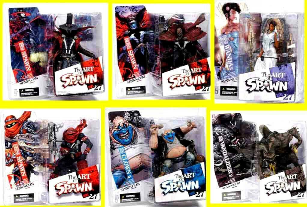 Art of Spawn Series 27 6  cifra Set 2005  McFarlane giocattoli Amricons  compra meglio