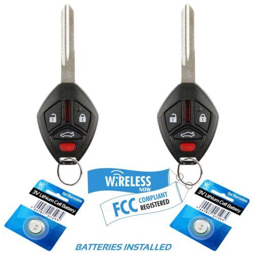 2 Car Key Fob Keyless Entry Remote For 2006 2007 Mitsubishi Galant