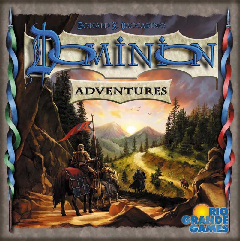 DOMINION Adventures EXPANSION BOARD GAME NEW Rio Grande Games