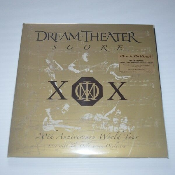 Dream Theater - Score:20th Anniversary World Tour - 4LPs New & Sealed