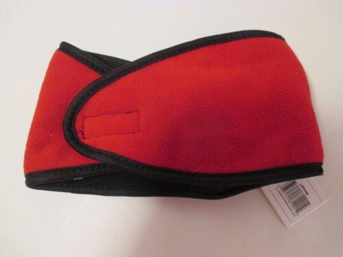NWT Women/'s TRUFIT Red Black Brown Green Fleece Earwarmer Headband Hat~Size S-M