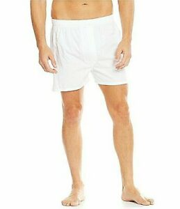 Roundtree-amp-Yorke-Big-amp-Tall-2-Pack-Full-Cut-Boxers-48B-White-Free-2-3-Day-Ship