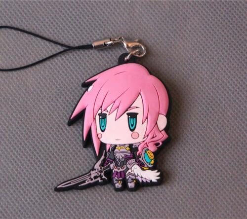 Final Fantasy XIII FF13 Lightning Claire Farron Charm Strap key chain
