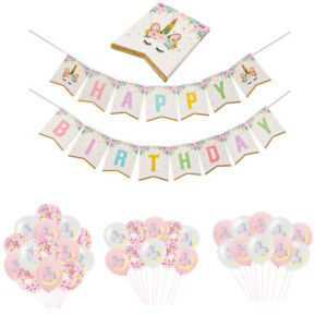 Unicorn-Party-Balloon-Banner-Backdrop-Kid-Birthday-Supplies-One-Baby-Shower-Flag