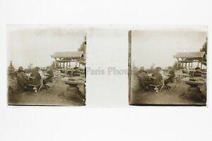 A-Caffe-Foto-Amateur-Placca-Da-Lente-Stereo-Positivo-Vintage-Ca-1920