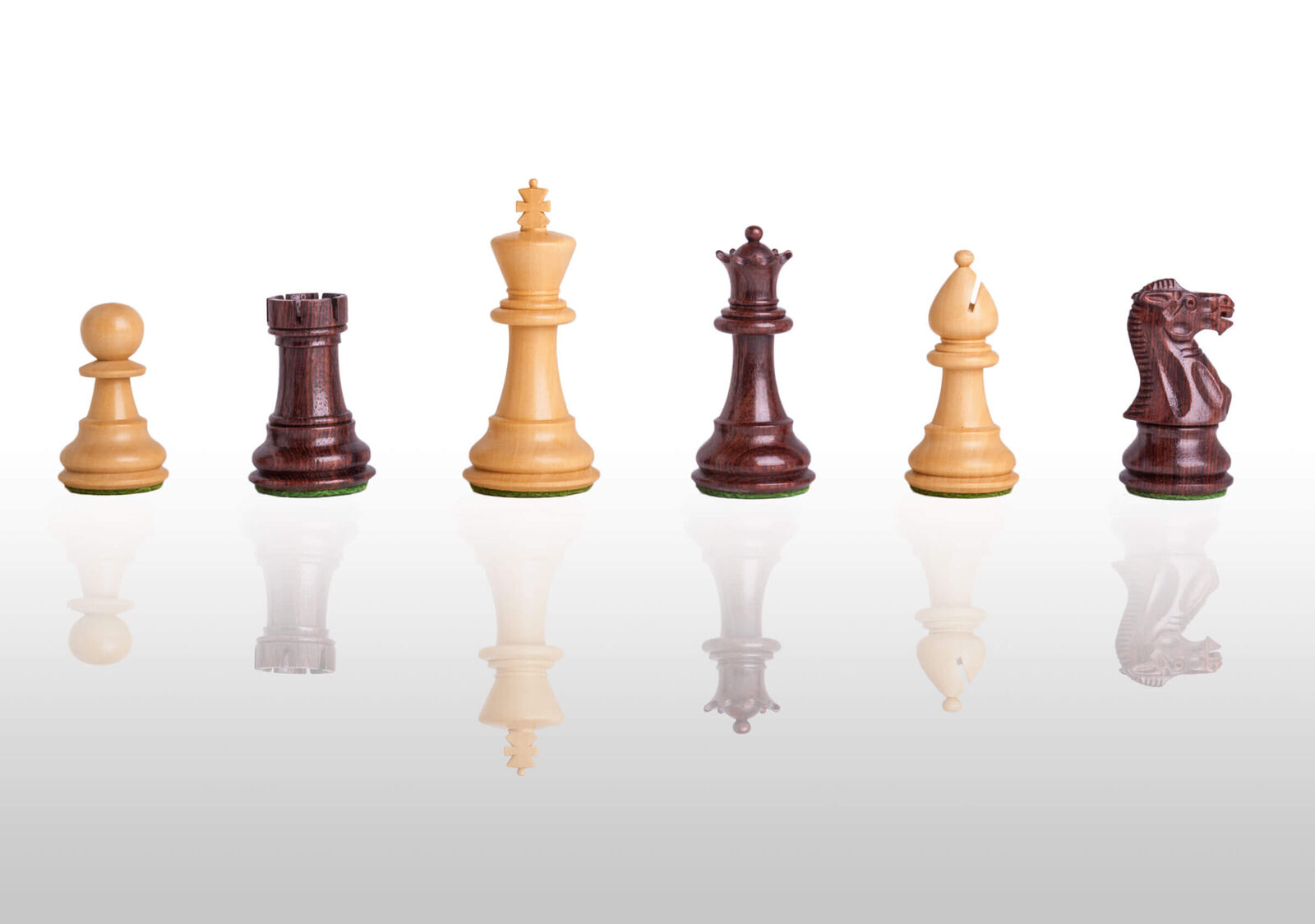 USCF Sales The Classic Chess Set - Pieces Only - 3.0  King - Indian Rosewood