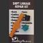 Chevrolet K3500 Pickup transmission Shift cable linkage bushing repair kit