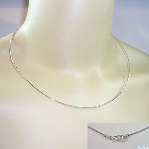 Halsreif-Omegareif-Collier-Silber-925-rhodiniert-1-0-mm-Laenge-ab-38-cm