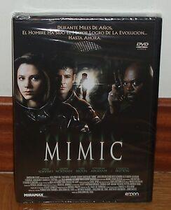 MIMIC-DVD-NUEVO-PRECINTADO-CIENCIA-FICCION-GUILLERMO-DEL-TORO-ACCION