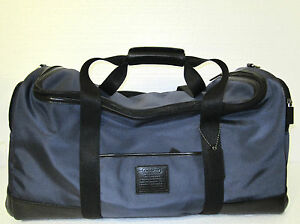 Coach-Voyager-Cabin-Nylon-w-Leather-Travel-Luggage-Bag-F77216
