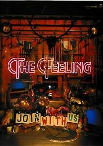 "The Feeling: ""join With Us"" Guitar Vocal Chords. Piano"