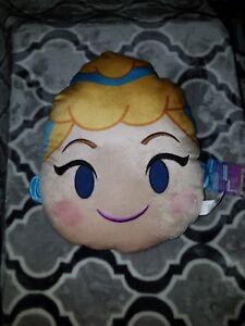 Disney Princess Emoji Blitz Cinderella Throw Pillow Kids ...