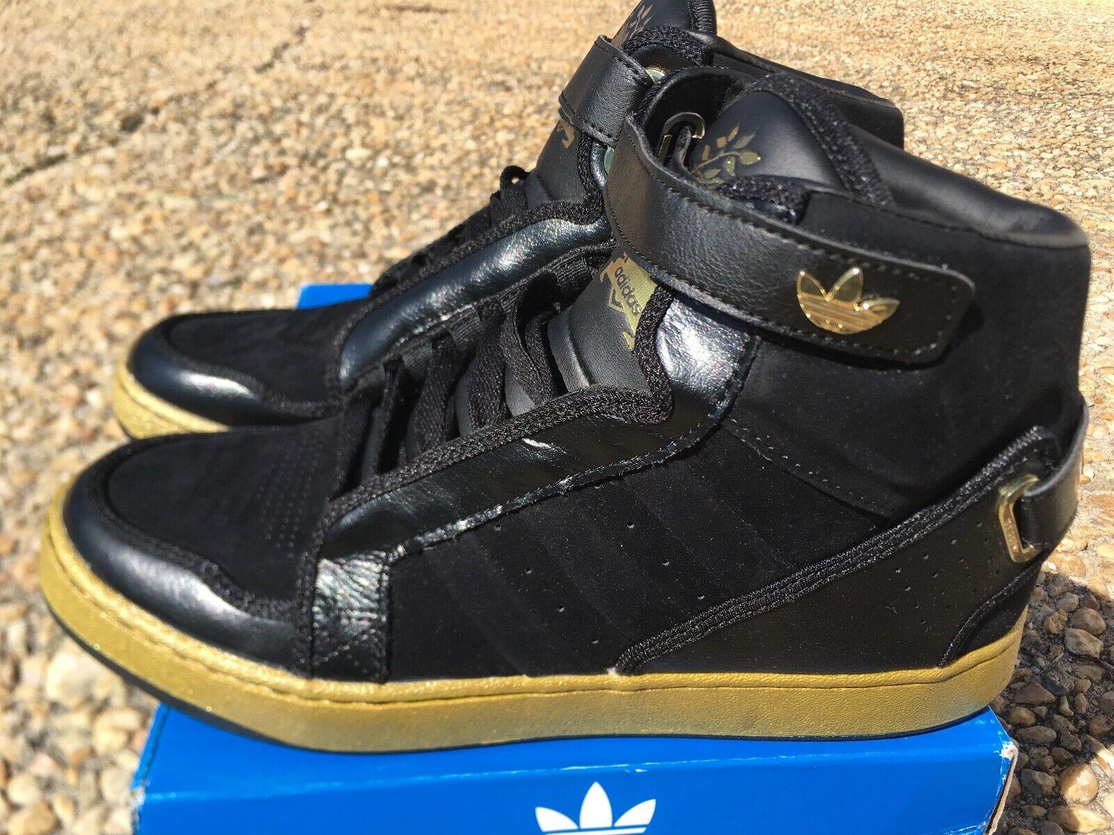 code promo 0918d d70d9 NEW G67322 gold Metallic Black shoes 9 Sz Men's 3.0 AR ...