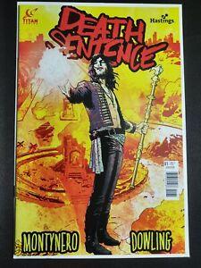 TITAN COMICS DEATH SENTENCE LONDON #1 COVER A MONTYNERO MR