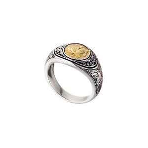 40a0534d8fea5 Details about Men's Antique Coin Ring Alexander the Great