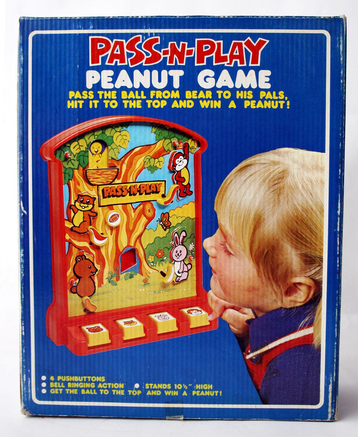 barato Rara De colección años años años 80 pase Juego de maní n Jugar Juego De Mesa Hong Kong Nuevo Sin Usar, En Caja   n ° 1 en línea