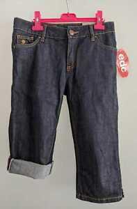 EDC by ESPRIT-Stretch-Capri-Jeans FIVE 3/4-Jeans SLIM FIT darkblue Gr. W27 °NEU° - Aachen, Deutschland - EDC by ESPRIT-Stretch-Capri-Jeans FIVE 3/4-Jeans SLIM FIT darkblue Gr. W27 °NEU° - Aachen, Deutschland