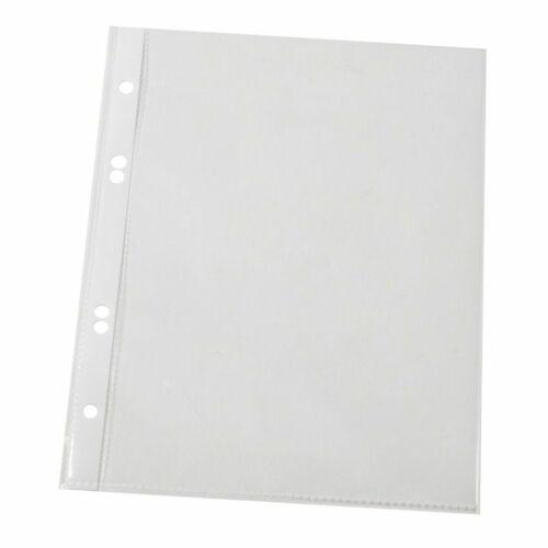 glasklar A5 100 Stück 100 mym Q-Connect Prospekthülle