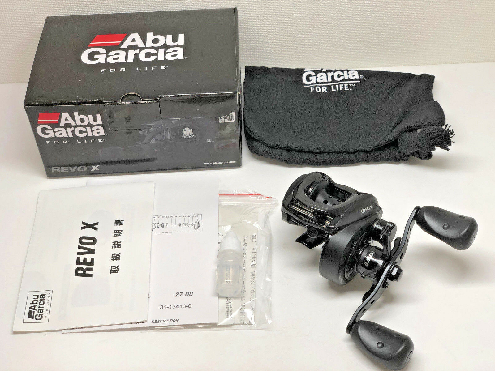 Abu Garcia Revo XL Left   Free Shipping from Japan