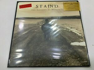 Staind 2 LP The Illusion Of Progress 2020 Limited Edition Silver Vinyl Numbered