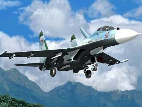 Su-27 Ub Flanker C Fighter 1 32 Plastic Model Kit TRUMPETER