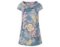 Ex White Stuff Ladies Kimono Bloom Blue Tunic Shirt Blouse Dress Top 8-18