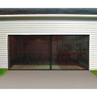 Double Garage Door Screen Door - - Free Fedex From Usa Keep Bugs Out