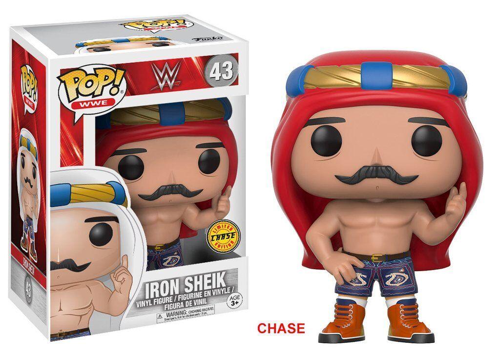 Funko POP Vinyl Iron  Iron Vinyl Sheik 43- CHASE Licenza ufficiale WWE a9d060
