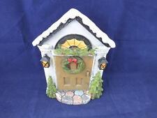 Garden Ornament Fairy Elf Pixie Christmas Door.
