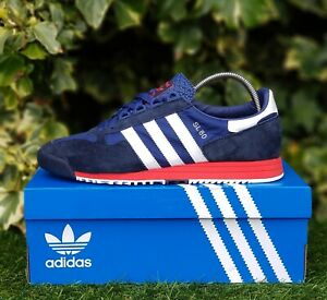 ❤ BNWB /& Genuine adidas originals ® SL 80-1970/'s Trainers in White UK Size 10