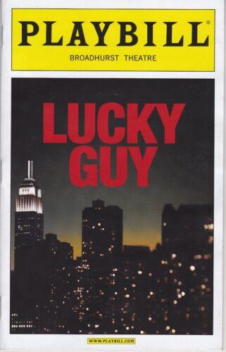 Opening Night Playbill Tom Hanks Lucky Guy