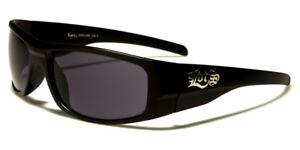 Locs Biker Gangs Sport Sonnenbrille Hardcore Shades Brille Choppers Og (schwarz-Loc91065-Mb) eN1EuK