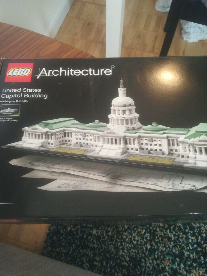 Lego Architecture, 21030 - united states capitol building