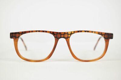 Amichevole Vintage Chai Ad37 F 703 50 [] 18 143 Arancione Ovale Occhiali Montatura Nos- Con Metodi Tradizionali