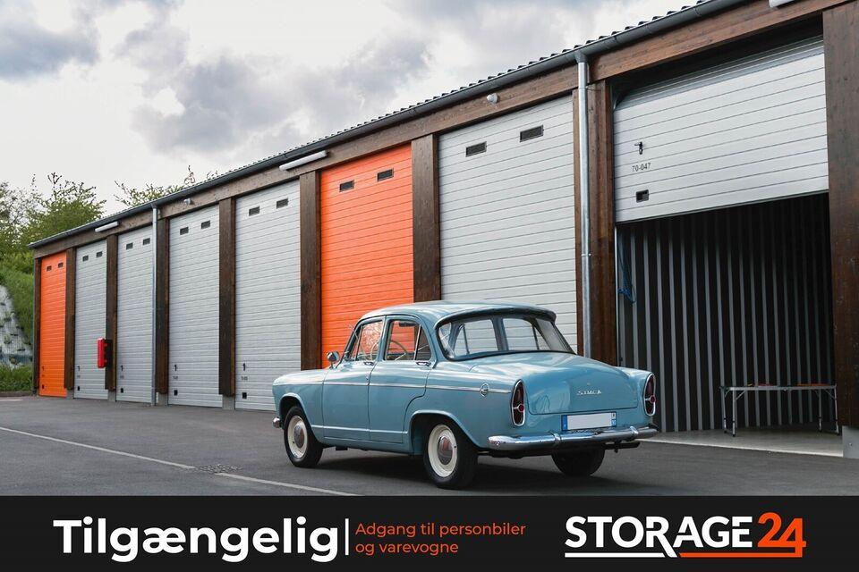 Vi leier ut XXL garasjer og lagringsplass.