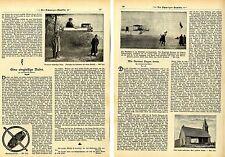 Wie Farman fliegen lernte & Brennans eingleisige Gyroskop-Bahn Memorab. von 1908