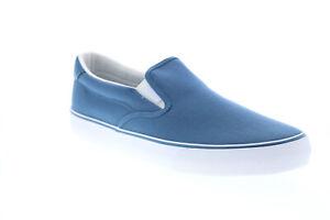 Lugz Bandit MBANDIC-4010 Mens Blue Canvas Lifestyle Sneakers Shoes